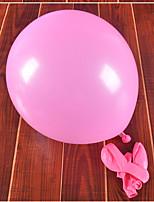 Goma Decoraciones de la boda-100Piezas / Juego Globo Boda / Cumpleaños tema rústico Rojo / Rosa / MoradoPrimavera / Verano / Otoño /