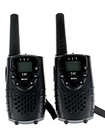 T667462B Walkie-talkie 0.5W 22 Channels 400 - 470 MHz AA alkaline battery 3 Km - 5 KmVOX / Crittografia dati / Display LCD / Monitor /