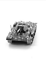 Jigsaw Puzzles 3D Puzzles Building Blocks DIY Toys Tank 1 Metal Silver Game Toy
