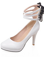 Women's Shoes Microfibre Spring / Summer / Fall Heels Heels Wedding / Office & Career / Party & Evening / Dress /