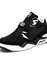 Men's Sneakers Spring / Fall Comfort Tulle Casual Flat Heel  Blue / White / Black and White /Sneaker