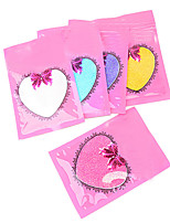 5PCS  Nail Art beauty  Fish Meal Golden Onion Iridescence Glitter 10g Bags