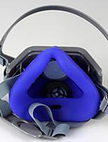 máscaras industriales polvo y gas de protección (material: goma&plástica)
