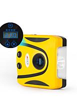 12V del veicolo automobilistico gonfiatore digitale pompa elettrica portatile pressione preimpostata