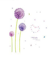 Dandelion Wall Decor Wall Stickers DIY Trade Wall Stickers