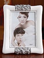 7 Inch European Quality White ABS Frame Wedding Supplies
