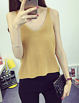 Women's Casual/Daily / Work Sexy / Simple Short Cardigan