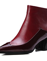 Women's Boots Fall / Winter Fashion Boots / Pointed Toe Party & Evening / Dress / Casual Chunky Heel Split Joint