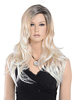 nouvelle arrivée noire perruques synthétiques blonds ombre pour les femmes noires OMBRE corps cheveux résistant à la chaleur d'onde