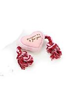 Cat / Dog Toy Pet Toys Plush Toy / Squeaking Toy Squeak / Squeaking / Durable Plush Pink / Khaki