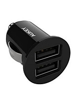 AUKEY 4.8A / USB Double Wells Car Charger Universal Smart Fast Car Charger