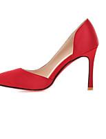 Çizmeler-Düğün / Elbise / Parti ve Gece-Topuklu / Sivri Burun-Dantel-Stiletto Topuk-Siyah / Mavi / Kırmızı / Karpuz-Kadın ayakkabı