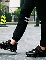 Men's Sneakers Summer Creepers / Round Toe PU Casual Platform Lace-up Black / White / Silver Others