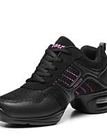 Non Customizable Women's Dance Shoes  /  Fabric Dance Sneakers / Modern Boots / Sneakers Flat HeelPractice