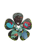 Type 5 Pcs Plastic Guitar Picks