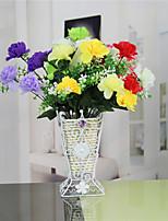 1 1 Филиал Пластик Гвоздика Букеты на стол Искусственные Цветы 12.4inch/31.5cm