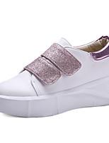 Mujer-Plataforma-Plataforma / Confort / Creepers-Zapatillas de deporte-Oficina y Trabajo / Vestido / Casual-Purpurina / Materiales
