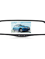 Intelligent Rear View Mirror Driving Recorder Double Lens GPS Navigation with Belt Reversing Radar Image