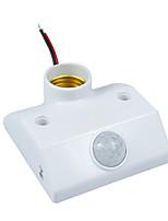 sensor infravermelho interruptor pir sensor de movimento titular auto-iluminação infravermelha para e27 lâmpadas de poupança de energia e
