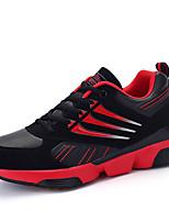 Черный / Синий / Красный / Темно-синий-Мужской-Для прогулок / На каждый день / Для занятий спортом-Тюль / Микроволокно-На плоской подошве-