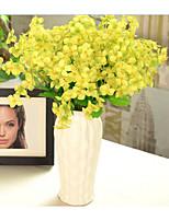 Simulation Flower Primrose Living Room Decorative Flower Wedding Silk Flower Single Beam Multicolor Display Decorative