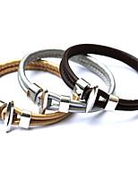 Armband/Kedje & Länk Armband / Berlock Armband / Läder Armband / vävstol Armband Legering / Läder OthersDubbelt lager / Crossover /