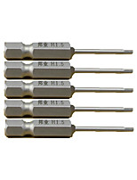 50Mm Within S26.35 Screwdriver Heads Sh1 / 4-50-H1.5Mm Hexagon a Park of 5(a Pack of 5)