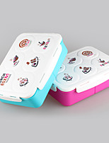 Plstic Type Children Lunch Box Bento Box with Soup Bowl