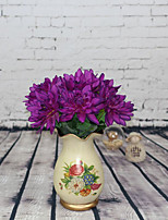 Hi-Q 1Pc Decorative Flower Dahlia variabilis Dedf Wedding Home Table Decoration Artificial Flowers