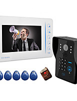AC220V--50Hz DC15V2A 7 Inch Visual Doorbell Household 807MJIDS11
