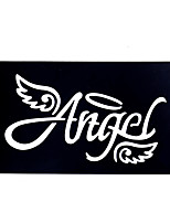 9pcs Henna Stencil Tattoo Airbrush Painting Template Angel Wing Design Small Henna Body Art Stencil