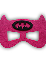 Girls / Boys Cartoon Hero / Halloween Mask, All Seasons Polyester Pink