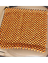 The Car Seat Pad Log Square Wooden Bead Cushion Massage Sofa Cushion Cool Summer Wooden Beads