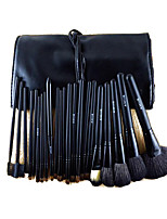 22 Makeup Brushes Set Horse Full Coverage Wood Face ShangYang(Brush Package)