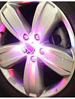 sol lampa ljus lampa bil hjulnavet ledde dekorativa lampa lampa hot wheels