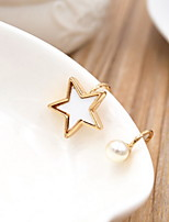 Earring Star Jewelry Women Fashion Daily / Casual Alloy 1pc Gold