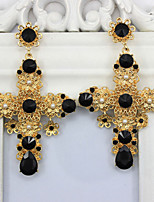 Earring Others,Jewelry 1 pair Fashionable Alloy Black Daily / Casual