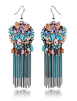 TIANSHE Women'S Europe and the United States selling Bohemia Tassel Earrings Alloy 1 pair