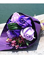 Ramos de Flores para Boda Forma Libre Rosas Decoraciones Boda Espuma Aprox.6cm