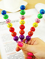 M161 Smile Candied Fruit Color Pen Lovely Cartoon Hb Pencil Stationery School Supplies For Children