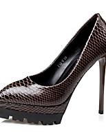 Women's Heels Spring / Summer / Fall / Winter Heels / Basic Pump / Comfort / Shoes & Matching Bags