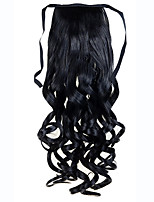 Long Curly Ponytail Ribbon Ponytail Clip In Pony Tail Hair Extension Extensions Hair Piece Wavy Style 100% Top Quality