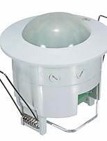 mini-encastré commutateur de détecteur de détecteur de mouvement infrarouge pir (100-240V)