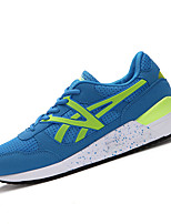 Men's Shoes Tulle Athletic Sneakers Athletic Sneaker Flat Heel Lace-up Black / Blue / Yellow / Pink