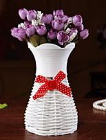 Woven Vase Wedding Decoration Desktop Decoration(Random Colors)