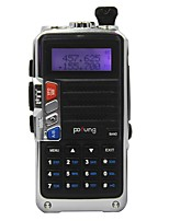 PoFung UV-920 Dual Band VHF UHF Walkie Talkie 128CH FM Two Way Radio CTCSS DCS