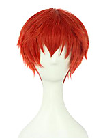 Assassination Classroom Akabane Karma Red Orange Cosplay Wigs