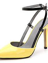 Women's Sandals Summer Heels / Pointed Toe Patent Leather Party & Evening / Dress / Casual Stiletto Heel