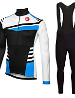 KEIYUEM®Spring/Summer/Autumn Long Sleeve Cycling Jersey+long Bib Tights Ropa Ciclismo Cycling Clothing Suits #L62