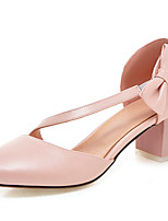 Women's Heels Spring / Summer / Fall Heels / D'Orsay & Two-Piece / Round Toe  Wedding / Dress / Casual Chunky